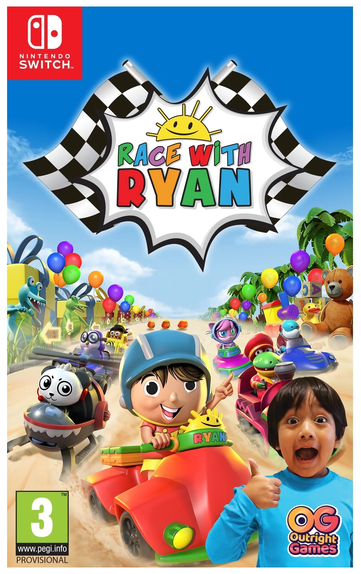 Outright Games Race with Ryan Nintendo Switch Game