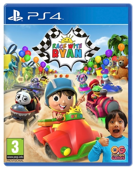 Outright Games Race with Ryan PS4 Playstation 4 Game