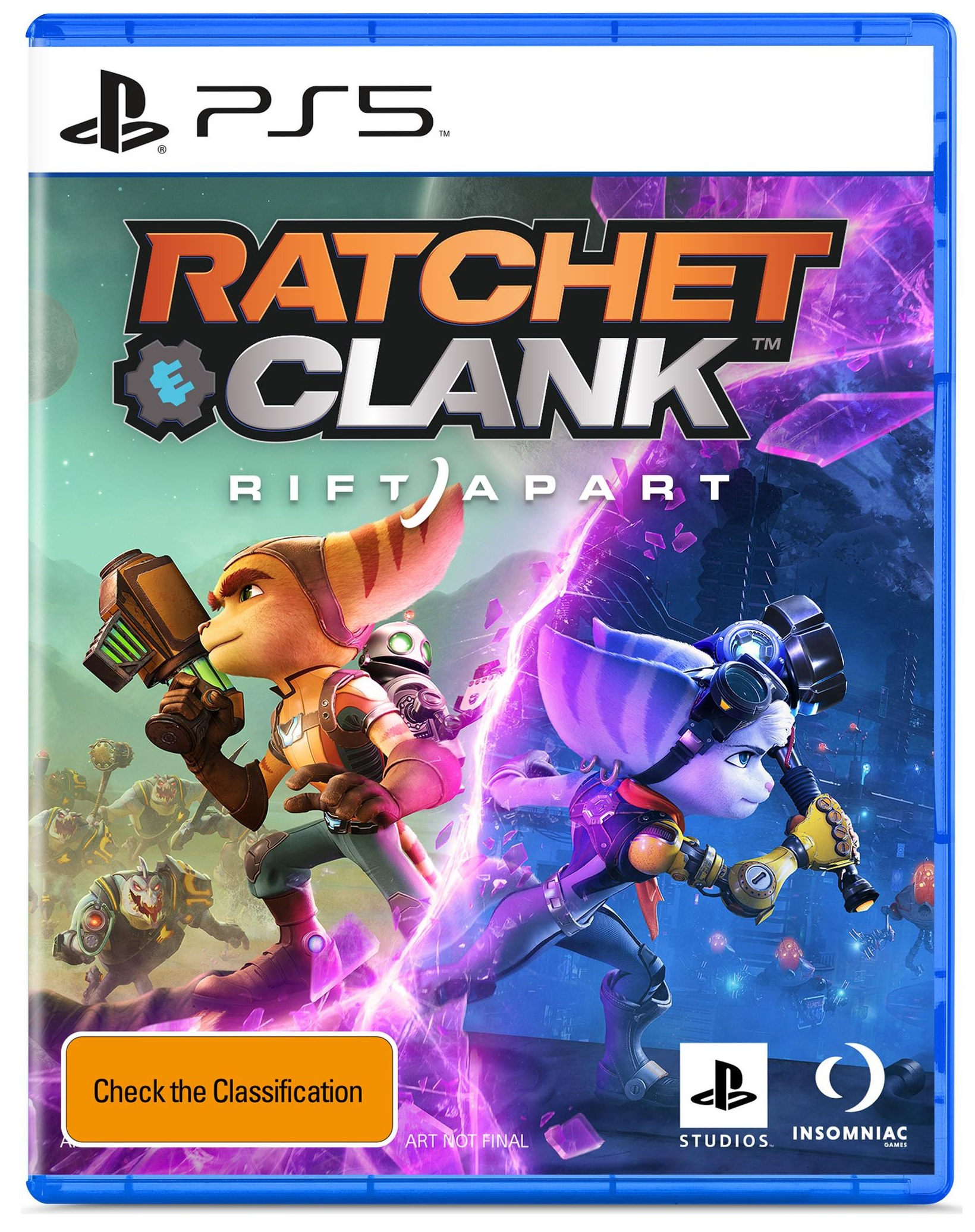 Sony Ratchet And Clank Rift Apart PS5 PlayStation 5 Game