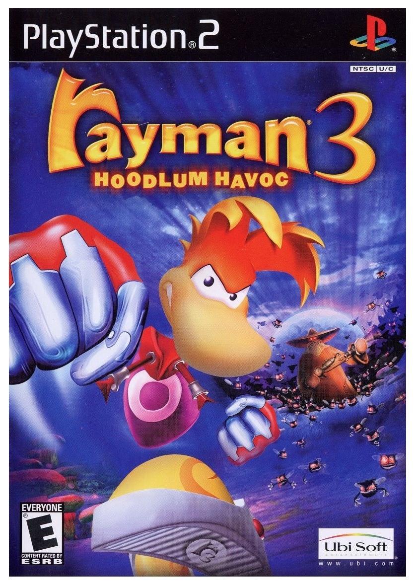 Ubisoft Rayman 3 Hoodlum Havoc Refurbished PS2 Playstation 2 Game