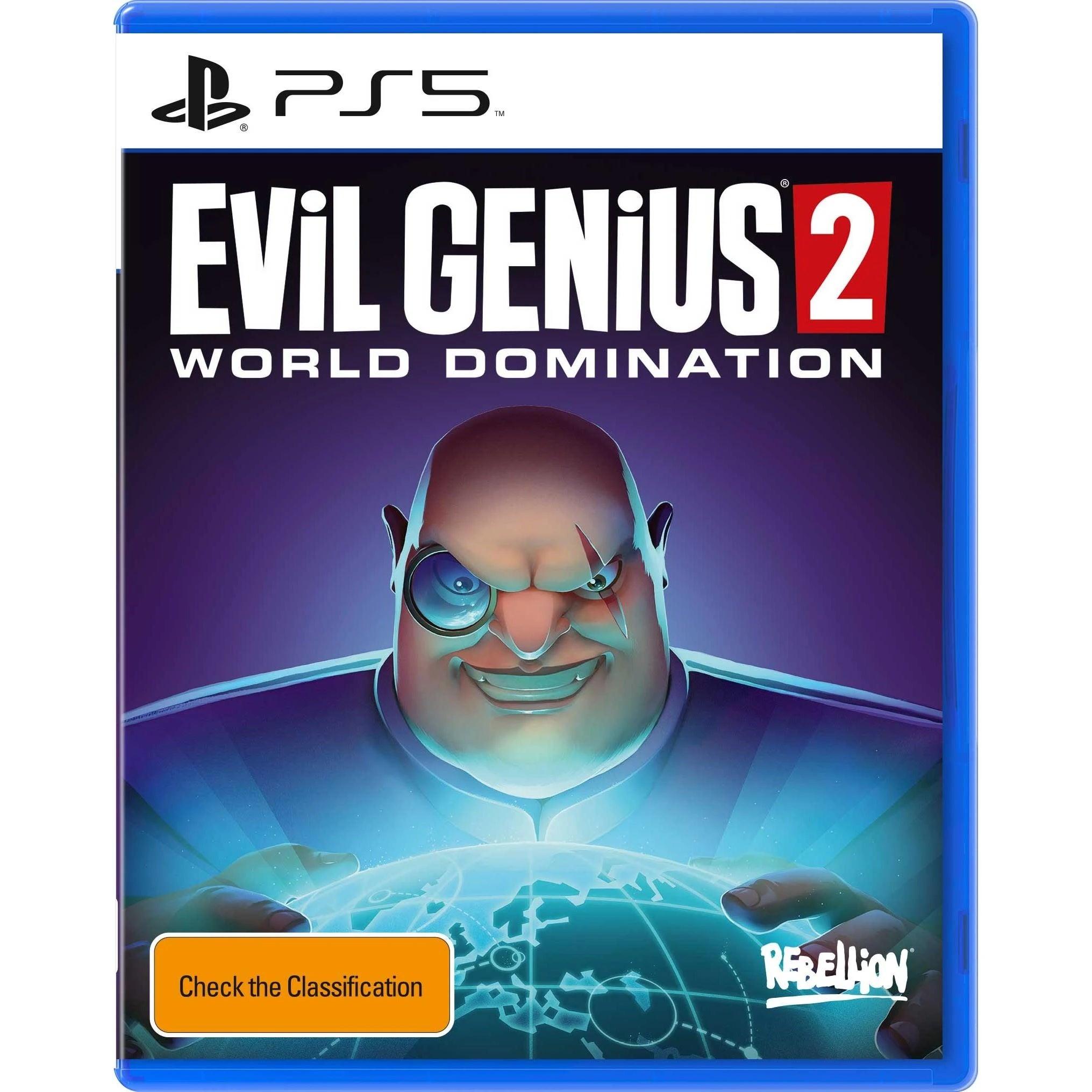 Rebellion Evil Genius 2 World Domination PS5 PlayStation 5 Game