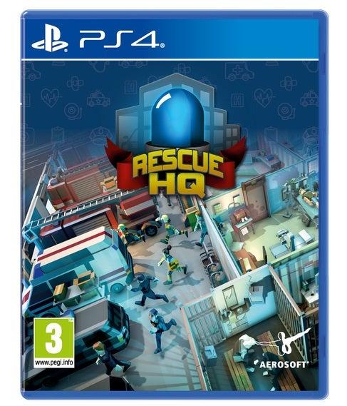Aerosoft Rescue HQ PS4 Playstation 4 Game