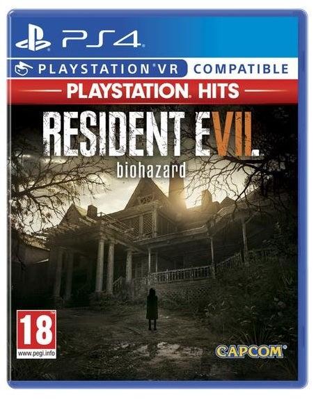 Capcom Resident Evil 7 Biohazard Playstation Hits PS4 Playstation 4 Game