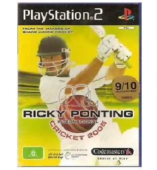 Codemasters Ricky Ponting International Cricket 2005 Refurbished PS2 Playstation 2 Game