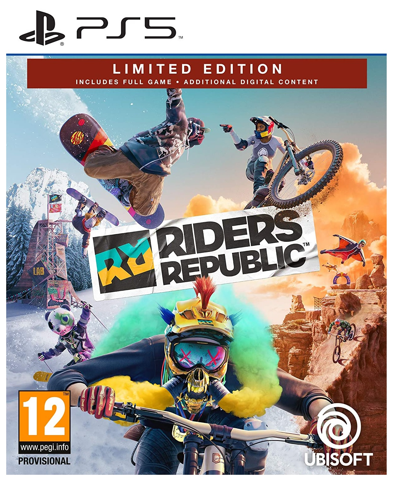 Ubisoft Riders Republic Limited Edition PS5 PlayStation 5 Game