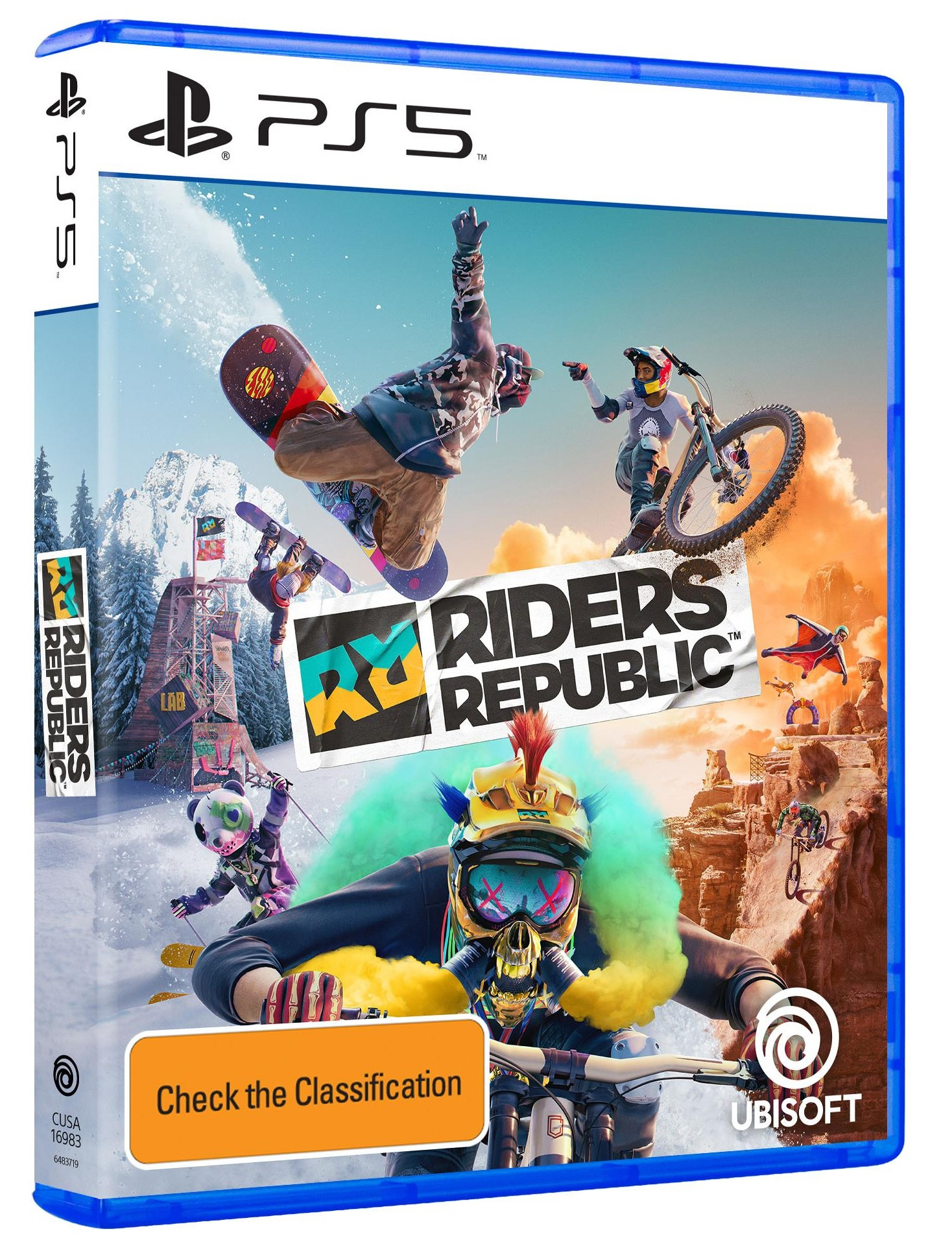 Ubisoft Riders Republic PS5 Playstation 5 Game