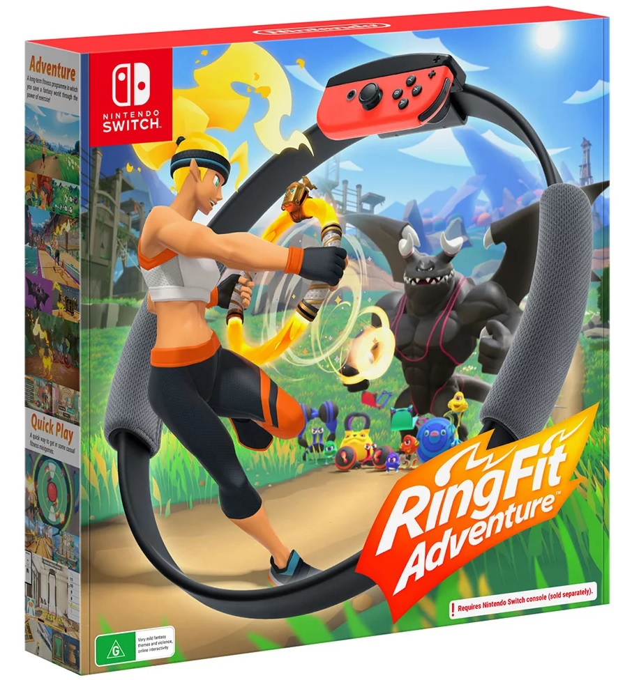 Nintendo Ring Fit Adventure Nintendo Switch Game