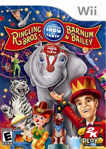 2k Play Ringling Bros and Barnum and Bailey Circus Nintendo Wii Game
