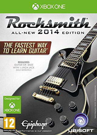 Ubisoft Rocksmith 2014 With Real Tone Cable Xbox One Game