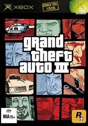 Rockstar Grand Theft Auto III Xbox Game