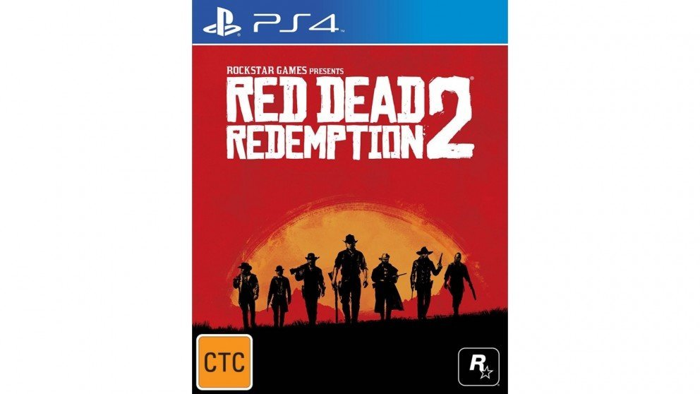 Rockstar Red Dead Redemption 2 PS4 Playstation 4 Game