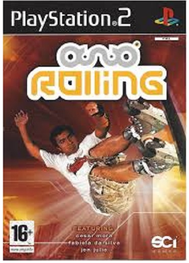 SCi Rolling PS2 Playstation 2 Game