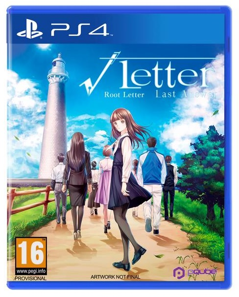 PQube Root Letter Last Answer PS4 Playstation 4 Game