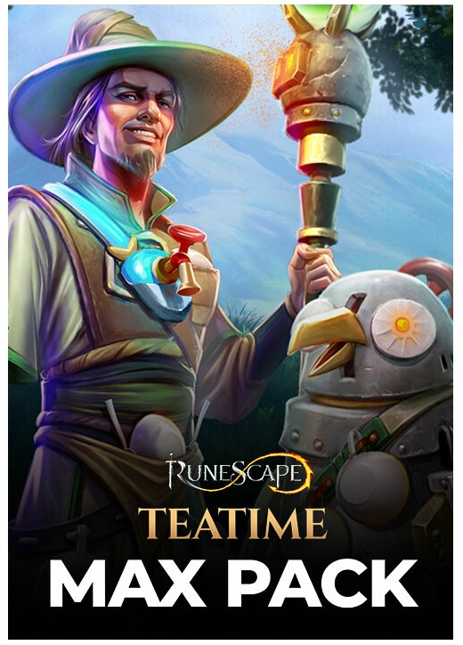 Jagex RuneScape Teatime Max Pack PC Game