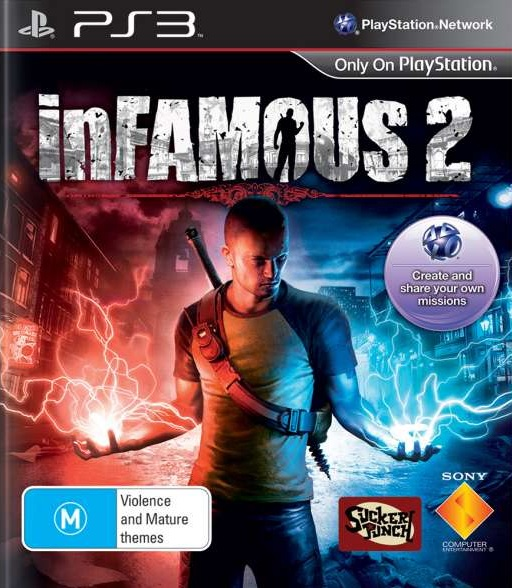 SCE InFAMOUS 2 Refurbished PS3 Playstation 3 Game
