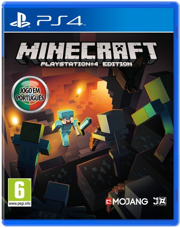 SCEA Minecraft PS4 Playstation 4 Game