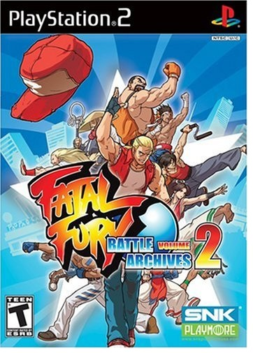 SNK Fatal Fury Battle Archives Volume 2 PS2 Playstation 2 Game