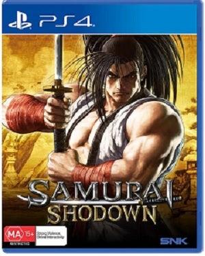 SNK Samurai Shodown PS4 Playstation 4 Game