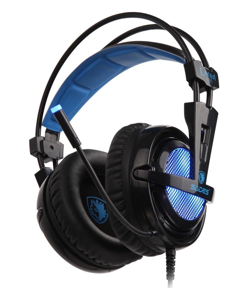 Sades Locust Plus Gaming Headphones
