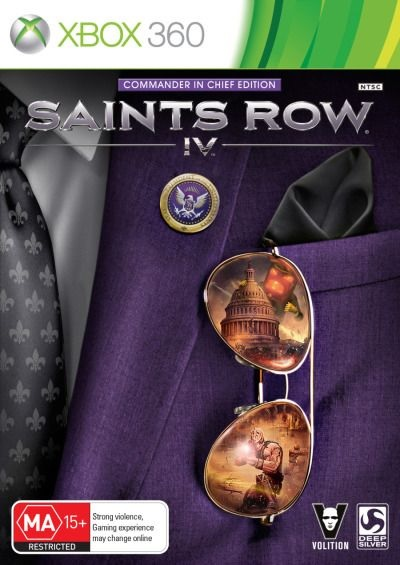 Deep Silver Saints Row IV Commander In Chief Edition Refurbished Xbox 360 Game