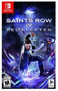 Deep Silver Saints Row IV Re Elected Nintendo Switch Game