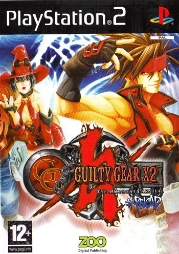 Sammy Guilty Gear X2 PS2 Playstation 2 Game