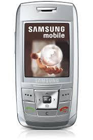 Samsung E250 2G Mobile Phone