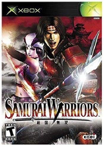 Koei Samurai Warriors Xbox Game