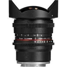 Samyang 8mm T3.8 VDSLR UMC Fish Eye CS II Lens