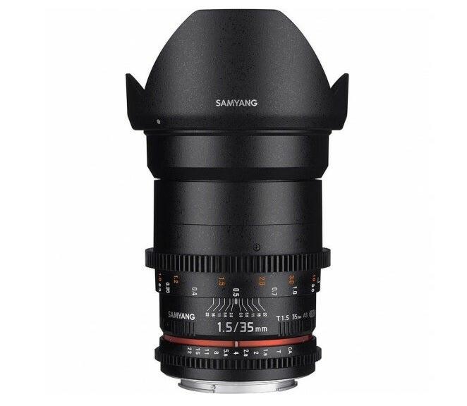 Samyang 35mm T1.5 VDSLR AS UMC II Lens