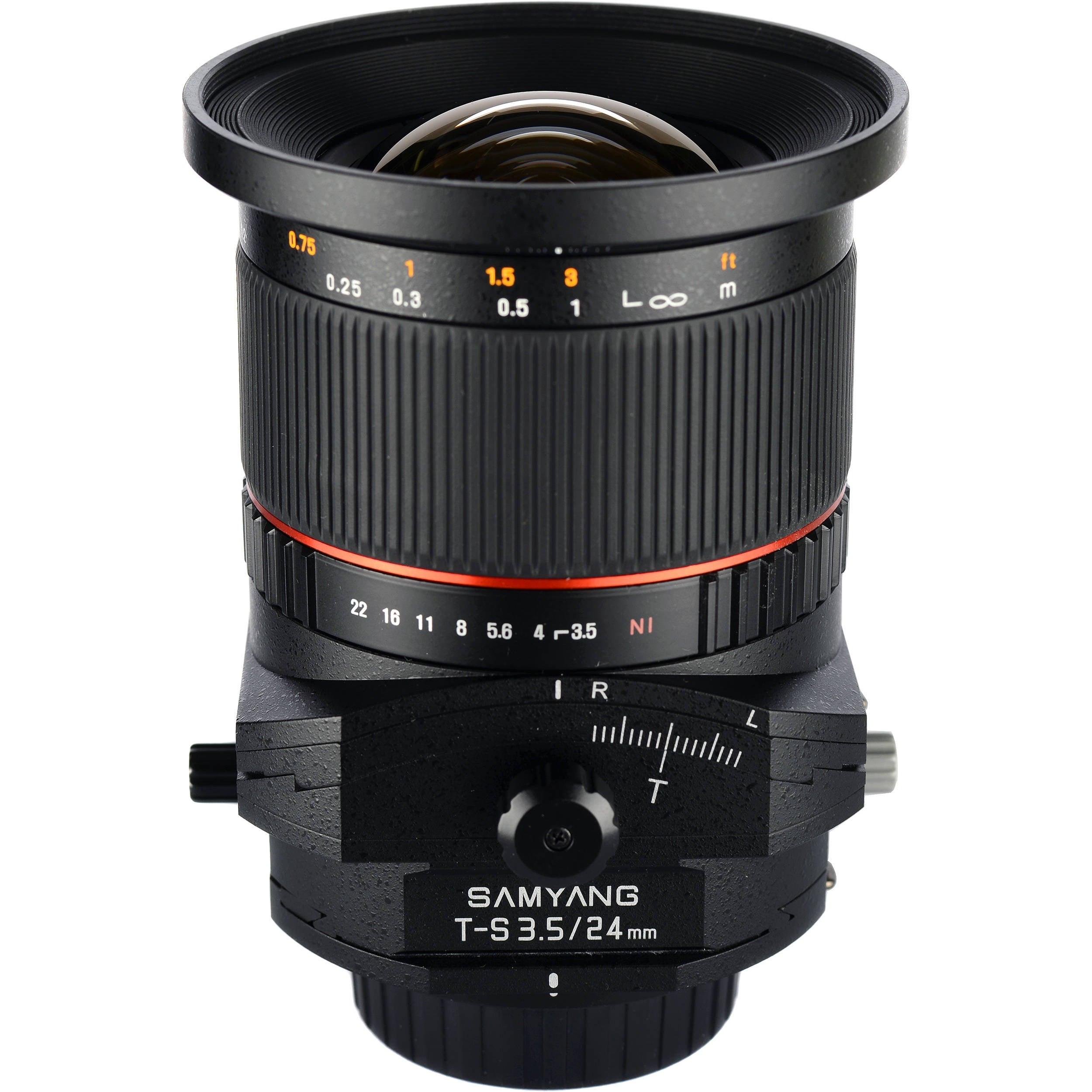 Samyang T-S 24mm F3.5 ED AS UMC Lens
