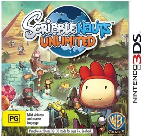 Warner Bros Scribblenauts Unlimited Refurbished Nintendo 3DS Game