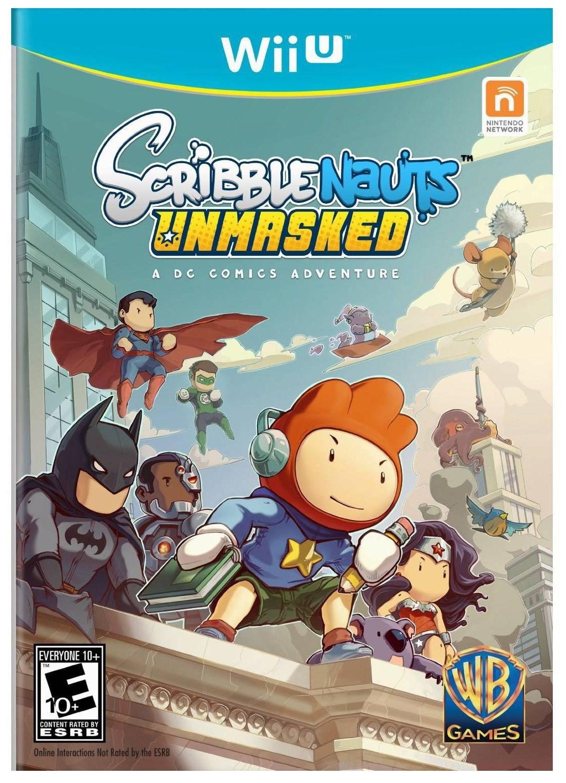 Warner Bros Scribblenauts Unmasked Nintendo Wii U Game