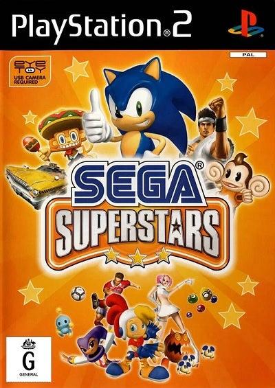 Sega Superstars Refurbished PS2 Playstation 2 Game