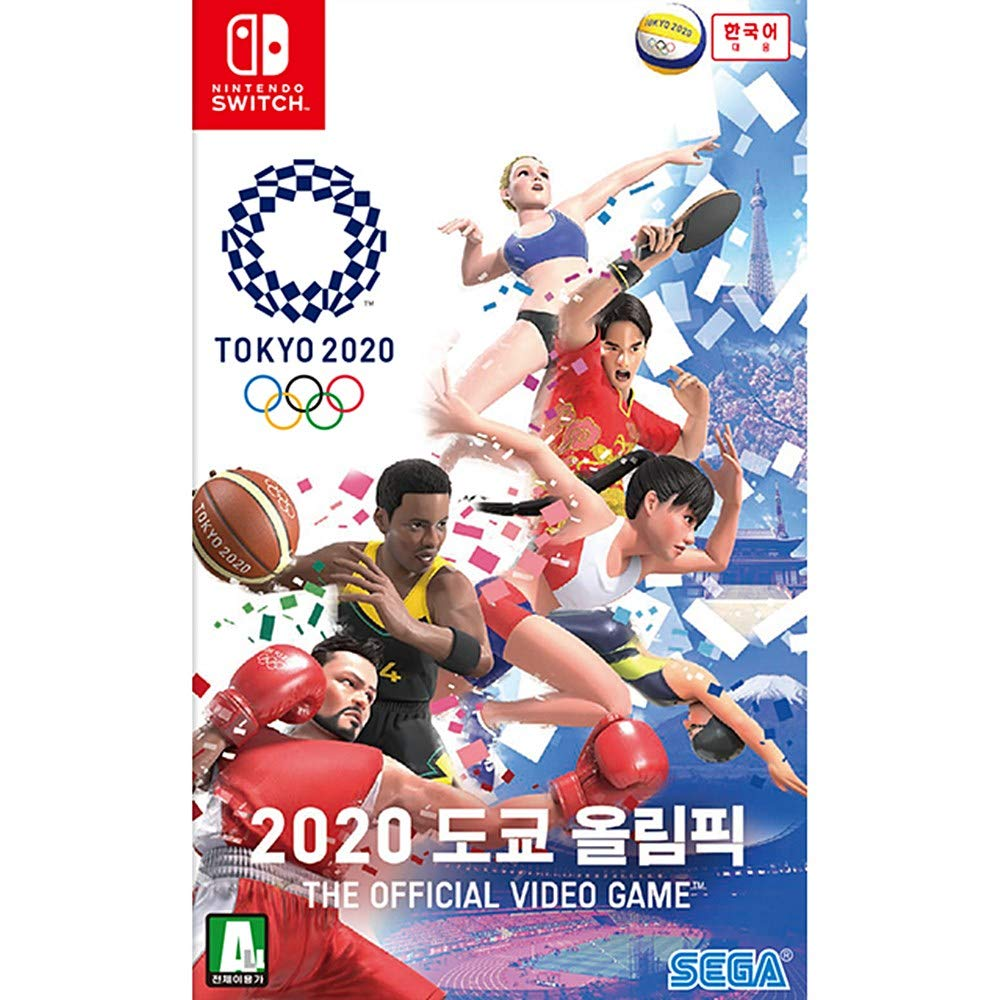 Sega Olympic Games Tokyo 2020 The Official Video Game Nintendo Switch Game