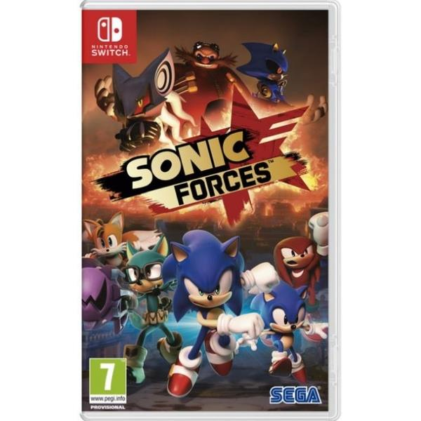 Sega Sonic Forces Nintendo Switch Game