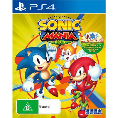 Sega Sonic Mania Plus PS4 Playstation 4 Game