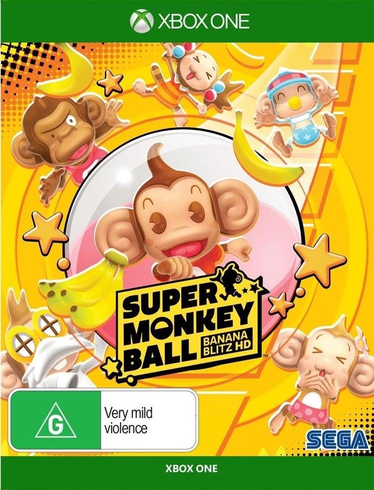 Sega Super Monkey Ball Banana Blitz HD Xbox One Game