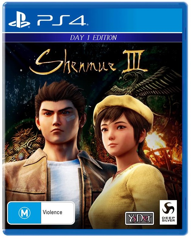Deep Silver Shenmue III Day One Edition PS4 Playstation 4 Game