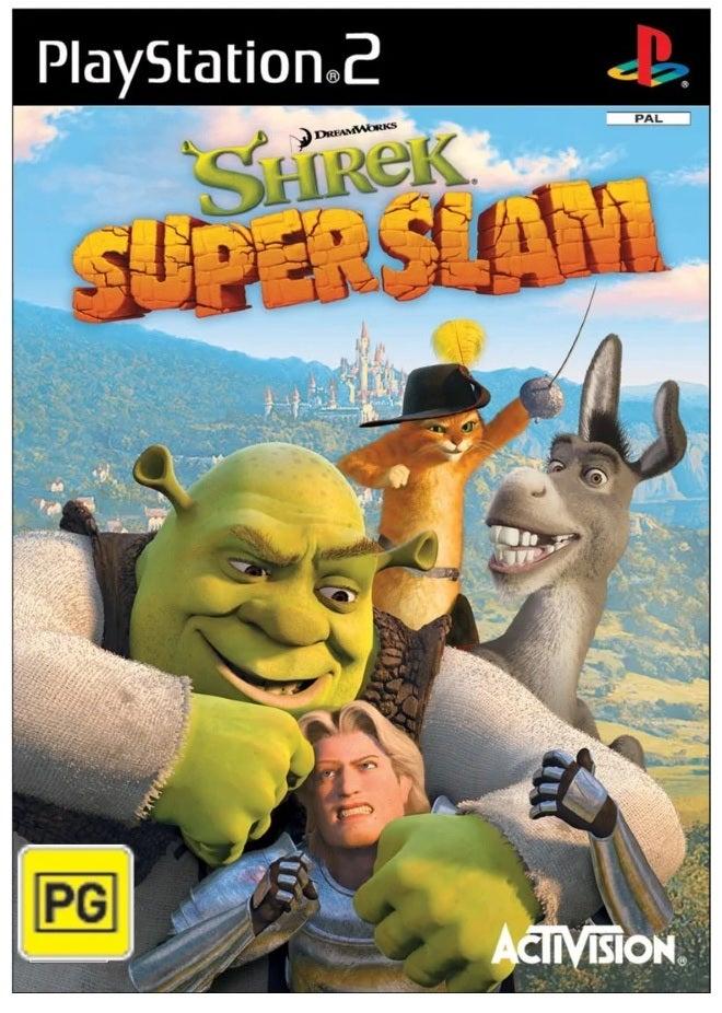 Activision Shrek Superslam Refurbished PS2 Playstation 2 Game