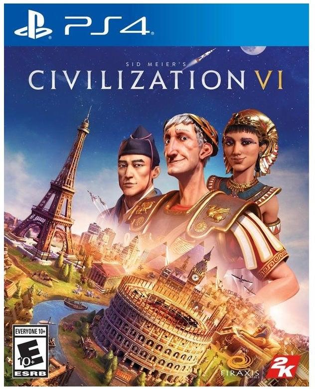 2k Games Sid Meiers Civilization VI PS4 Playstation 4 Game