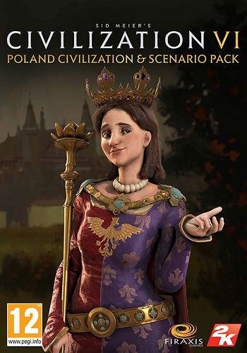 2k Games Sid Meiers Civilization VI Poland Civilization And Scenario Pack PC Game