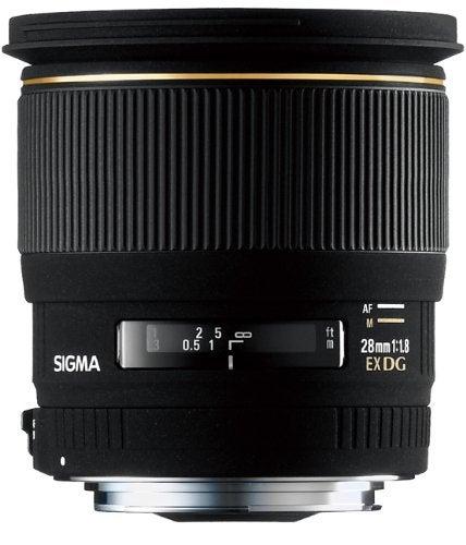 Sigma 28mm F1.8 EX DG Aspherical Macro Lens