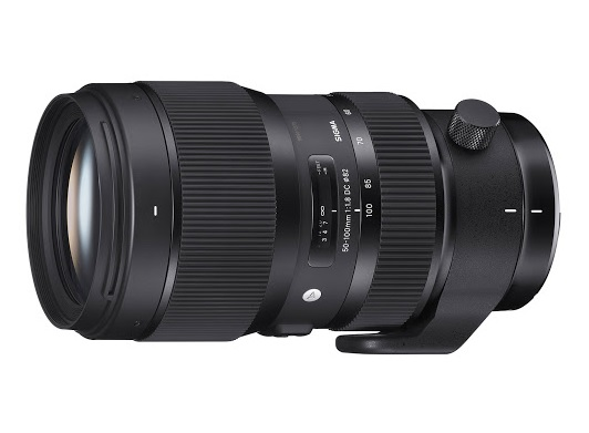 Sigma 50-100mm F1.8 DC HSM Lens