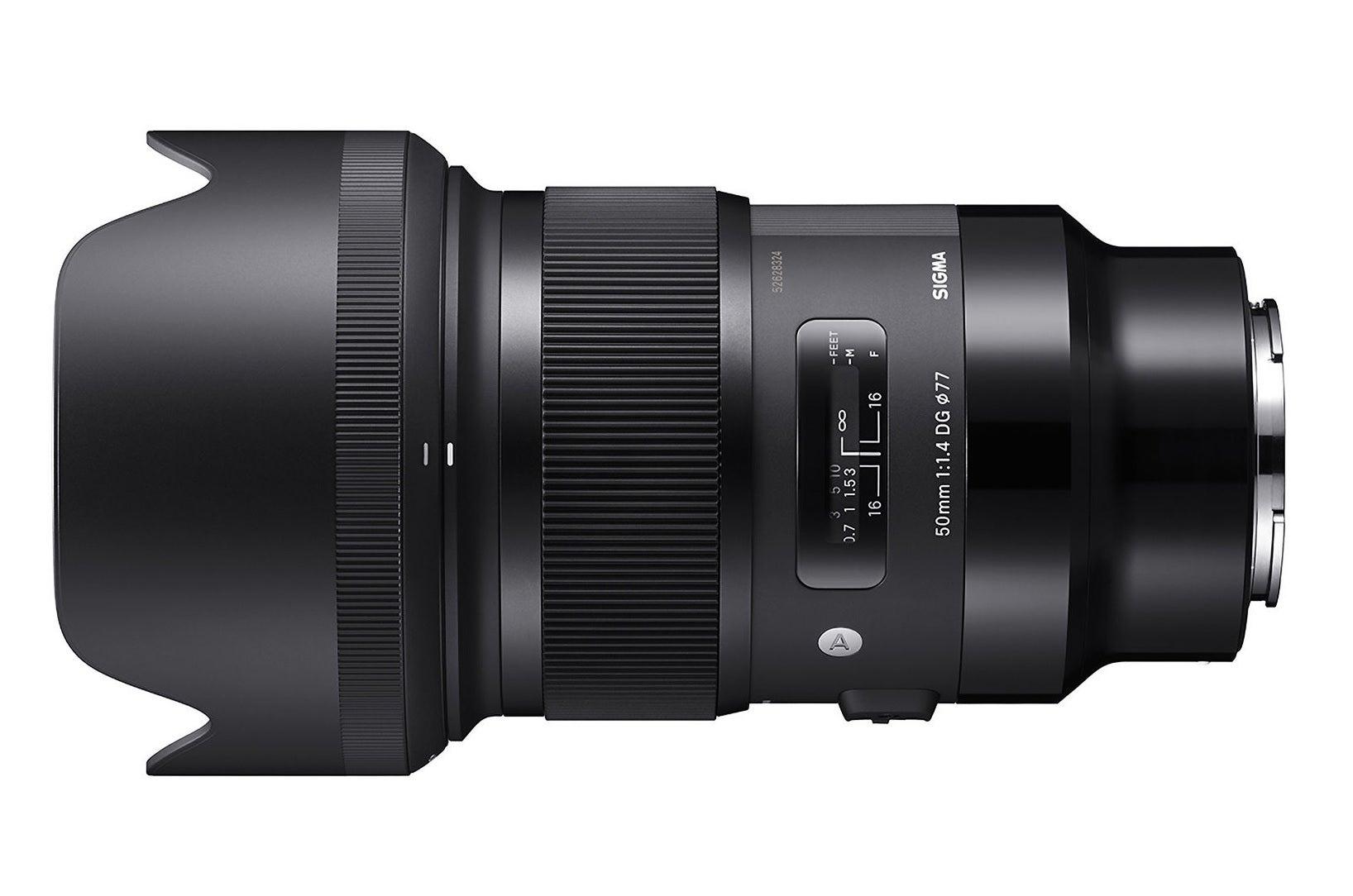 Sigma 50mm F1.4 DG HSM Lens