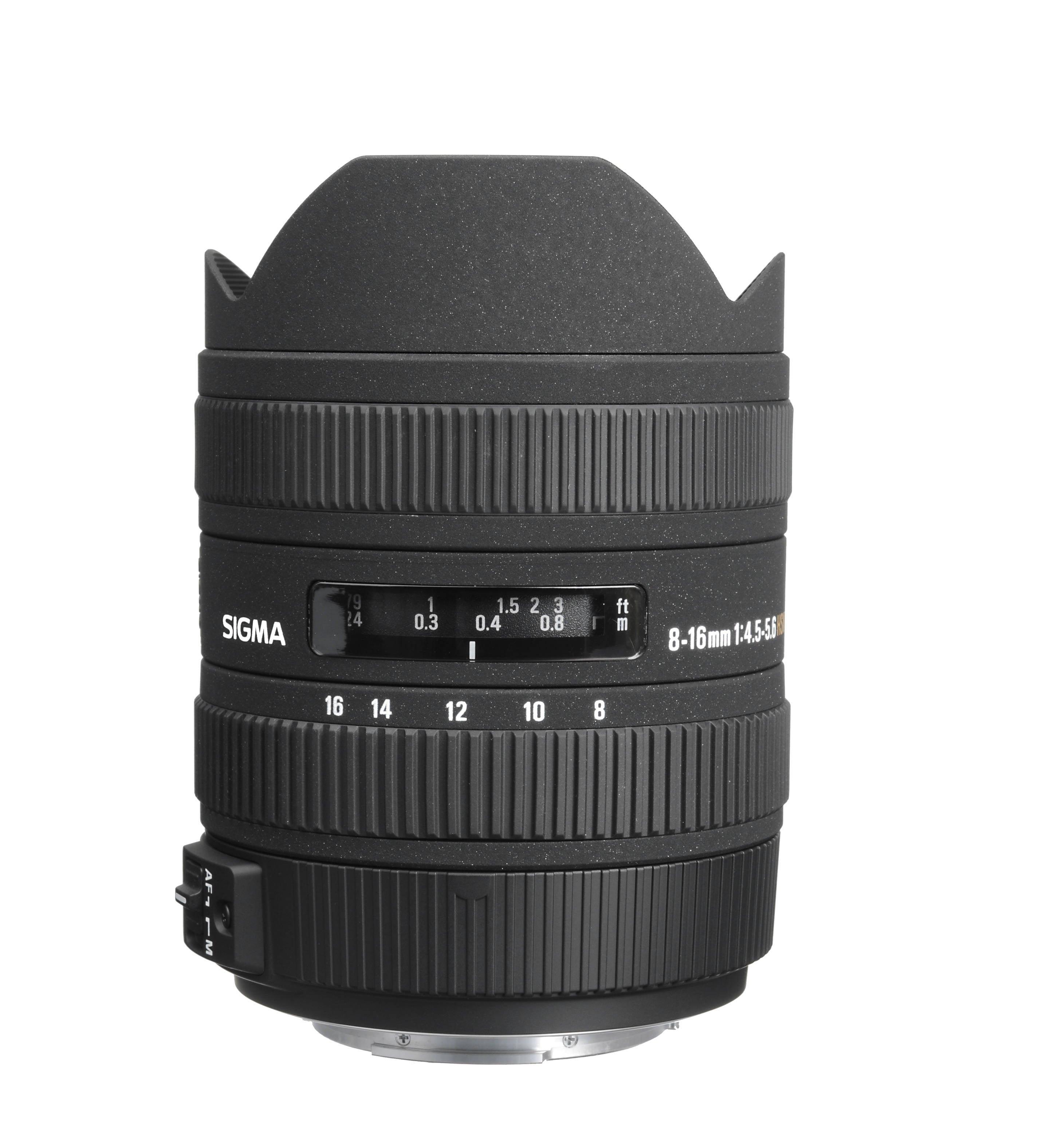 Sigman 8-16mm F4.5-5.6 DC HSM Lens