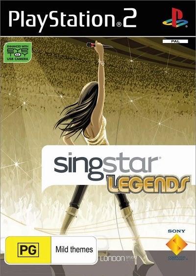 Sony Singstar Legends Refurbished PS2 Playstation 2 Game