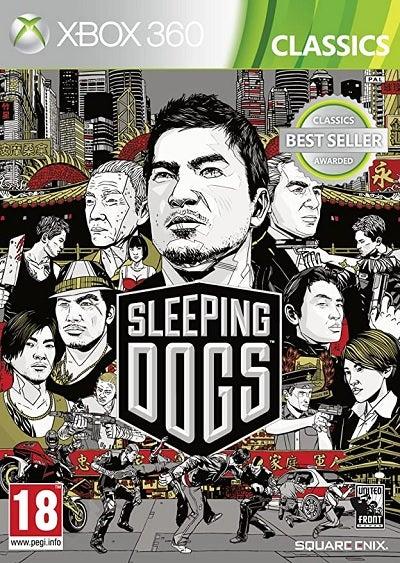 Square Enix Sleeping Dogs Classics Xbox 360 Game