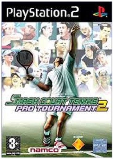 Namco Smash Court Tennis Pro Tournament 2 PS2 Playstation 2 Game