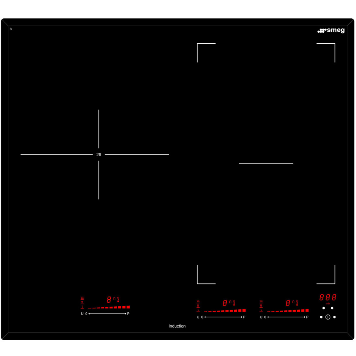 Smeg SAI63 Kitchen Cooktop